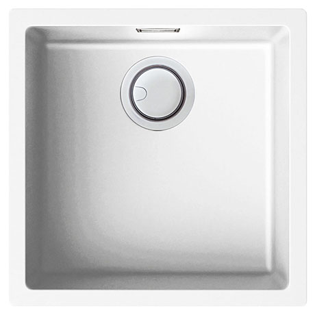 Reginox Multa 102 1.0 Bowl Granite Kitchen Sink - White