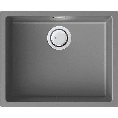 Reginox Multa 105 1.0 Bowl Granite Kitchen Sink - Light Grey
