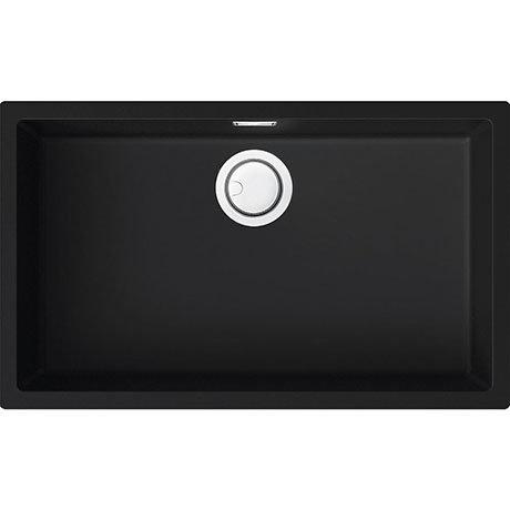 Reginox Multa 130 1.0 Bowl Granite Kitchen Sink - Black