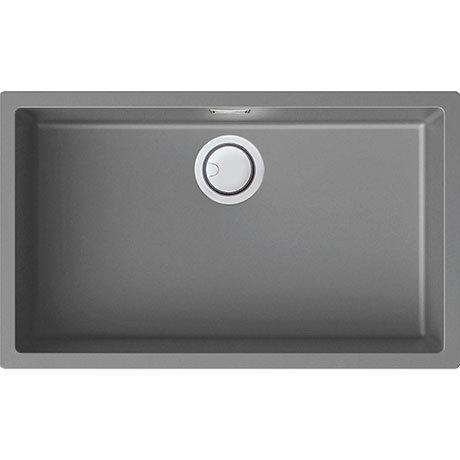 Reginox Multa 130 1.0 Bowl Granite Kitchen Sink - Light Grey