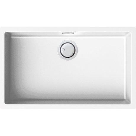 Reginox Multa 130 1.0 Bowl Granite Kitchen Sink - White