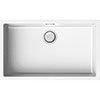 Reginox Multa 130 1.0 Bowl Granite Kitchen Sink - White profile small image view 1
