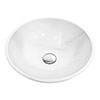 Moon White 420mm Round Marble Basin 0TH - MW001 profile small image view 1