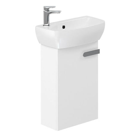 Britton MyHome Cloakroom Wall Hung Vanity Unit - White