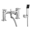 Britton MyHome Bath Shower Mixer with Kit profile small image view 1