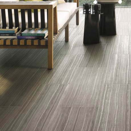 Monza Bone Wood Effect Tile - Wall and Floor - 600 x 300mm Large Image