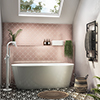 Monza 1680 x 800 Double Ended Free Standing Bath profile small image view 1
