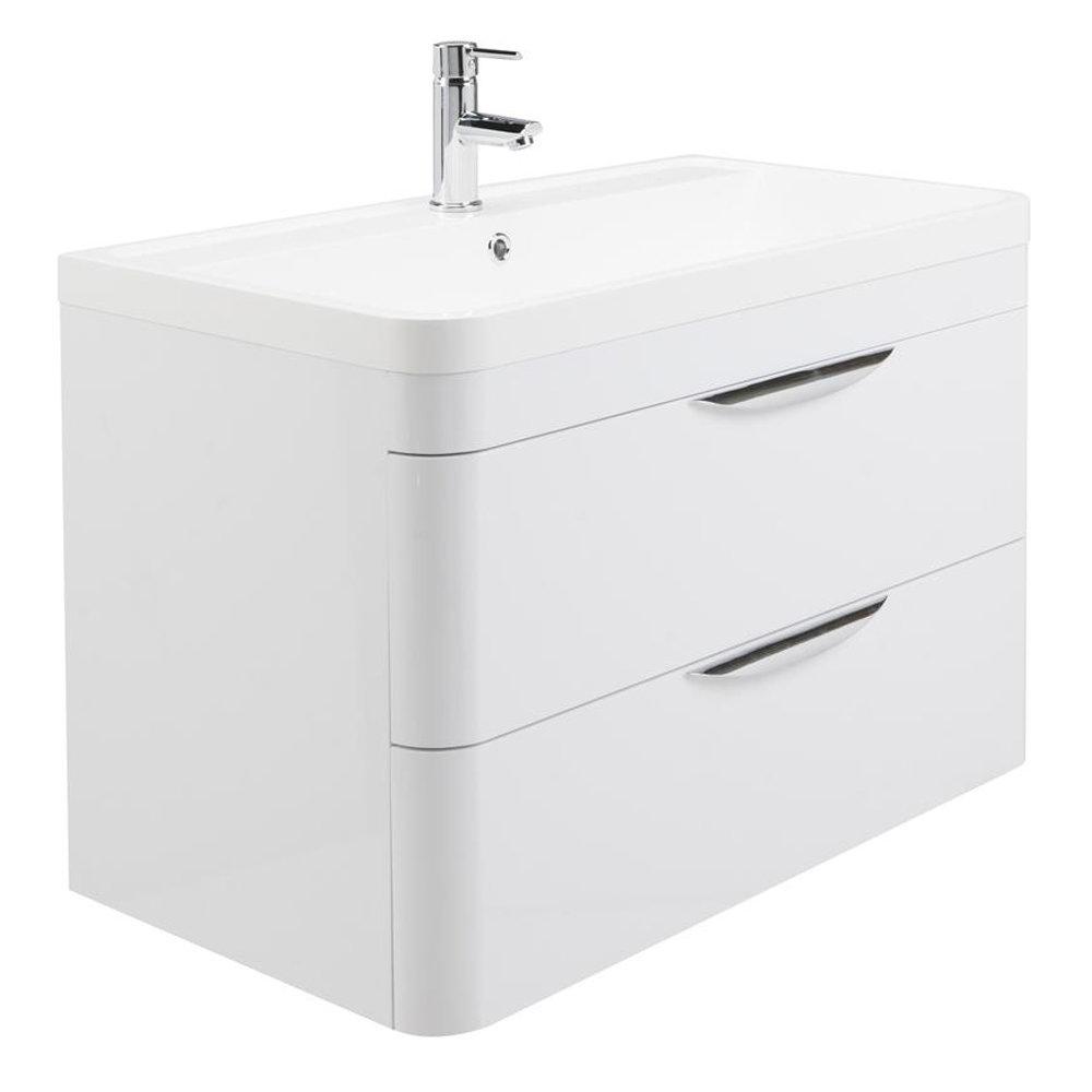 Monza Vanity Unit & Modern Toilet Package profile large image view 3