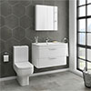 Monza Vanity Unit & Modern Toilet Package Medium Image