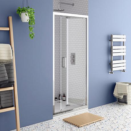 Monza 1000 x 1900 Bi-Fold Shower Door