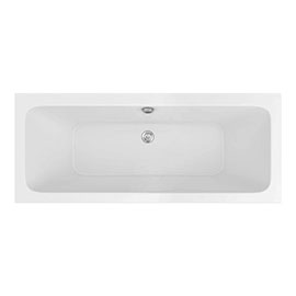 Monza 1700 x 700 Double Ended Rectangular Bath