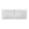 Monza 1700 x 700 Double Ended Rectangular Bath profile small image view 1