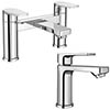 Monza Round Tap Package (Bath + Basin Tap) profile small image view 1