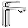 Monza Round Modern Basin Mixer Tap + Waste profile small image view 1