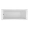 Monza 1700 x 700 Single Ended Rectangular Bath profile small image view 1