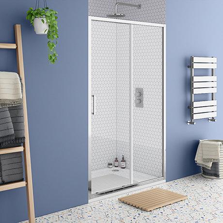 Monza 1000 x 1900 Sliding Shower Door