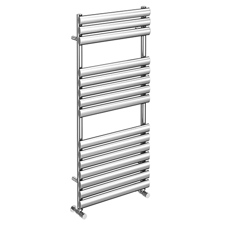 Monza 1120 x 500 Stainless Steel Oval Heated Towel Rail