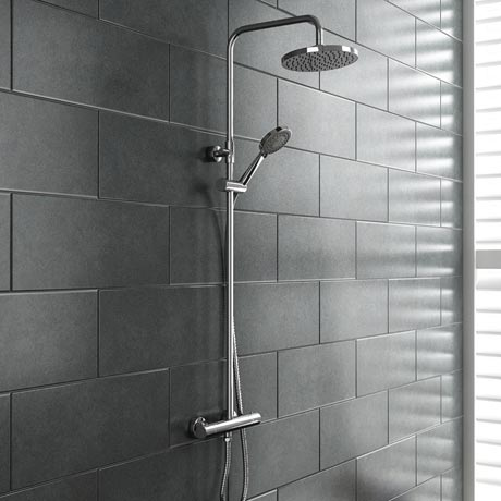 Madrid Luxury Round Thermostatic Shower - Chrome