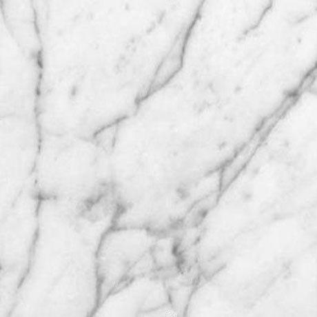 Miller - Nova 40 Wall Hung Single Door Vanity Unit with Carrara Marble Worktop & Ceramic Basin - Oak Standard Large Image