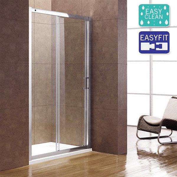 Matrix Infinity 8 1900mm Luxury Single Sliding Shower Door 8mm - Various Sizes Large Image