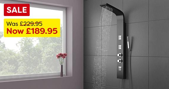 Maverick Thermostatic Shower Panel