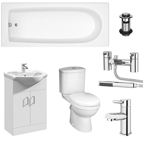 Mayford Complete Modern Bathroom Package