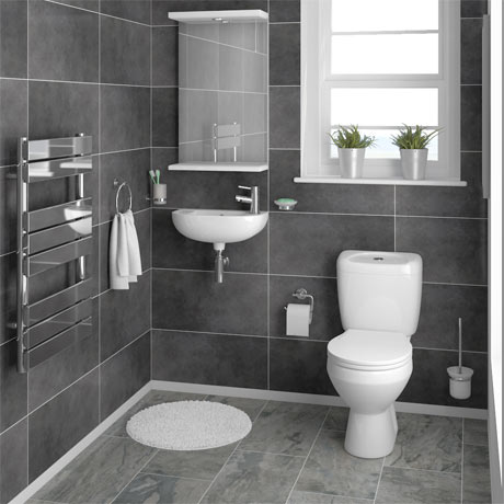Melbourne Ceramic Cloakroom Suite
