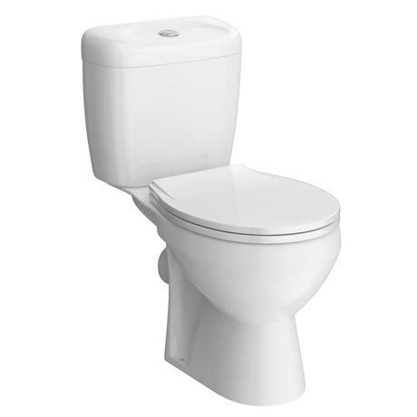 Melbourne Ceramic Close Coupled Modern Toilet