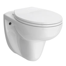 Melbourne Wall Hung Toilet + Soft Close Toilet Seat Medium Image