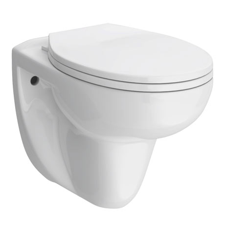 Melbourne Wall Hung Toilet + Soft Close Toilet Seat