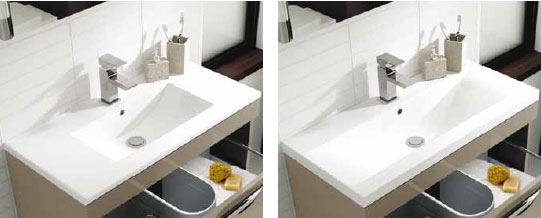 Mid-Edged and Minimalist Basin styles