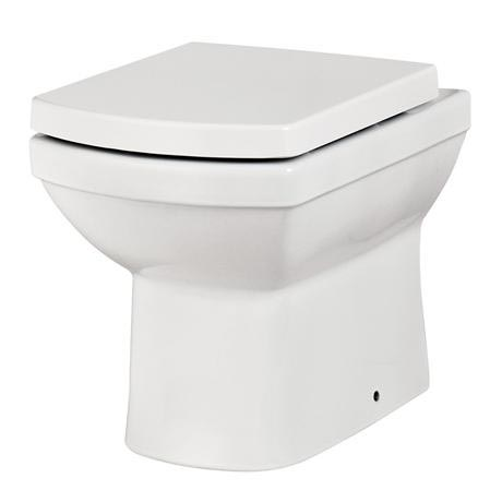 Mere - Amor Back to Wall Pan with soft close seat