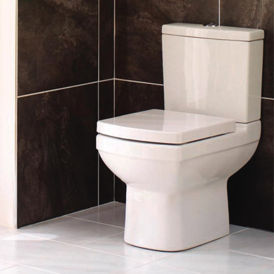 Mere - Amor Close Coupled Toilet with soft close seat Profile Large Image