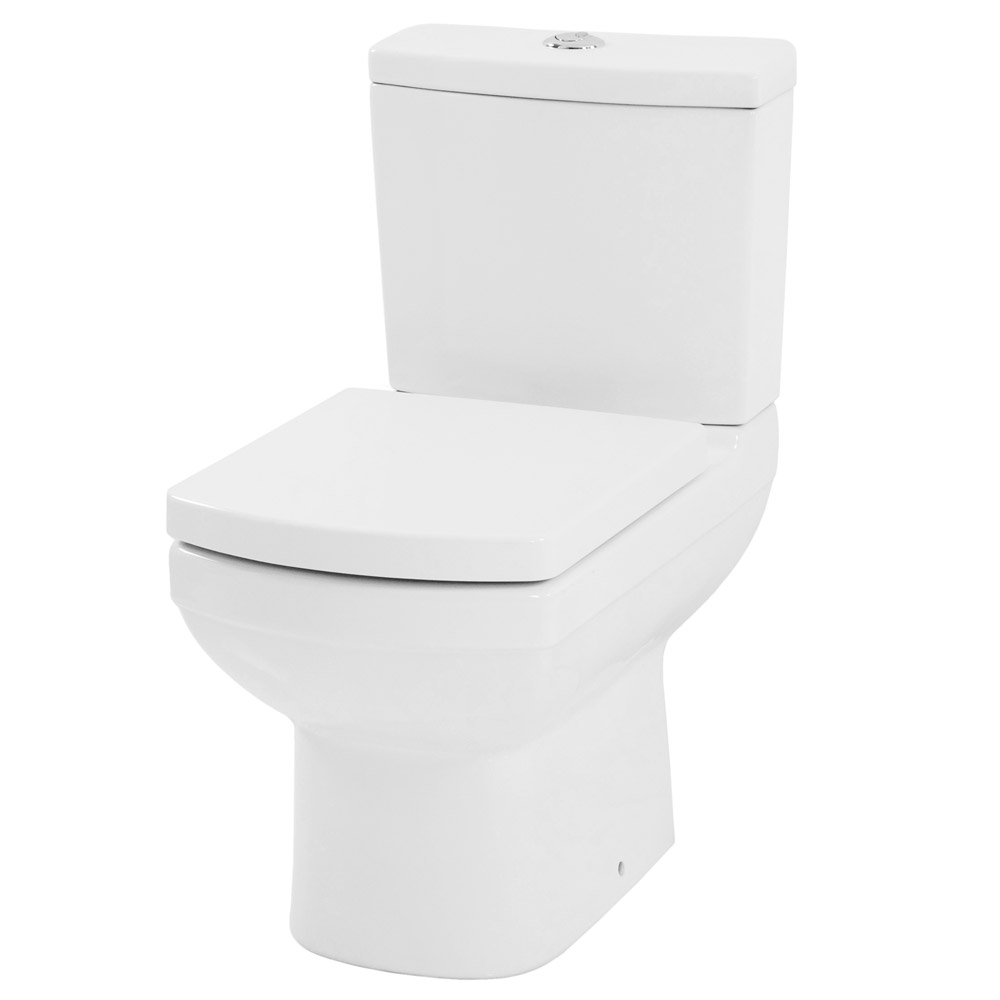 Mere - Amor Close Coupled Toilet with soft close seat Large Image