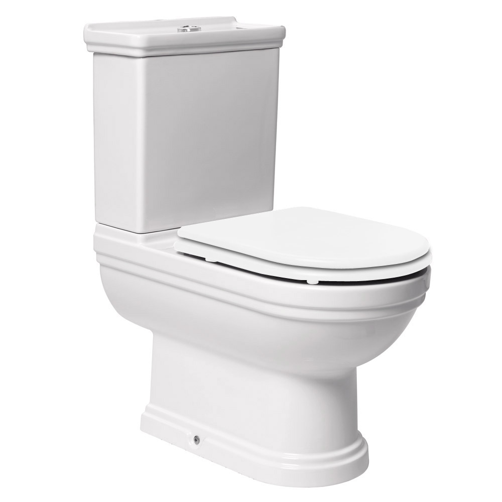 Mere - Aristo Bathroom Suite with White Soft Close Seat profile large image view 3