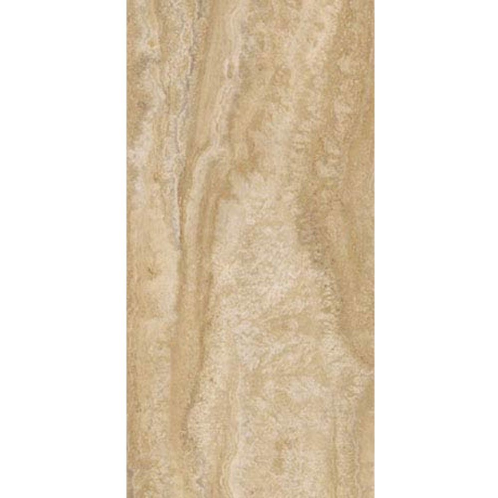 Mere Reef Natural Travertine 304x609mm Vinyl Floor Tiles (Pack of 12) Large Image