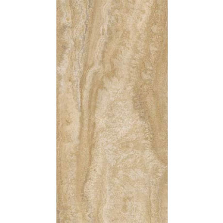 Mere Reef Natural Travertine 304x609mm Vinyl Floor Tiles (Pack of 12)