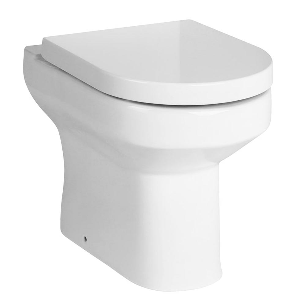 Metro Combined Two-In-One Wash Basin & Toilet (500mm wide x 300mm)  Feature Large Image