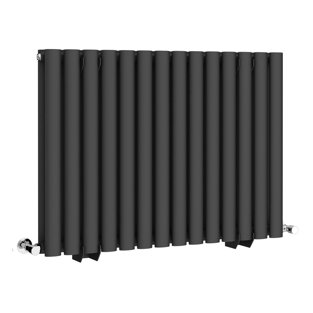 Metro Horizontal Radiator - Anthracite - Double Panel (600mm High) profile large image view 1
