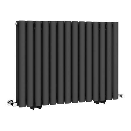 Metro Horizontal Radiator - Anthracite - Double Panel (600mm High)