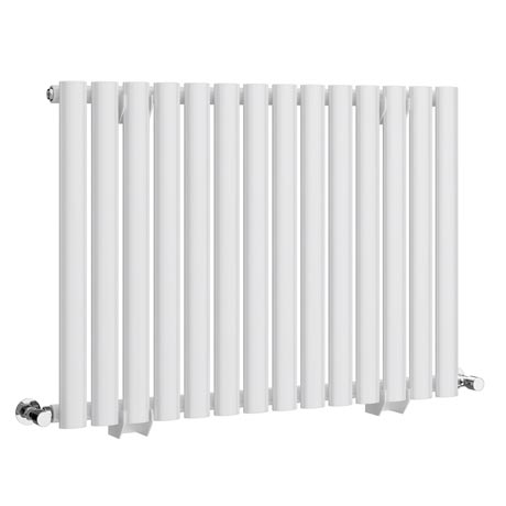 Metro Horizontal Radiator - White - Single Panel (600mm High)
