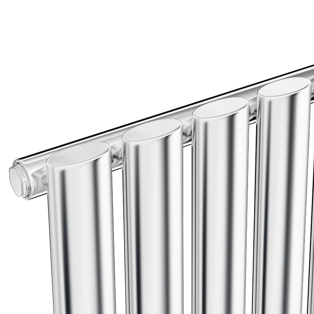 Metro Vertical Radiator - Chrome - Single Panel (H1800 x W354mm) profile large image view 2