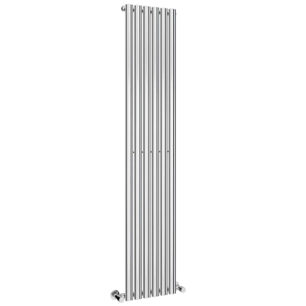 Metro Vertical Radiator - Chrome - Single Panel (H1800 x W354mm) profile large image view 3