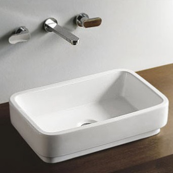 Miami Counter Top Basin 0TH - 550 x 355mm Large Image