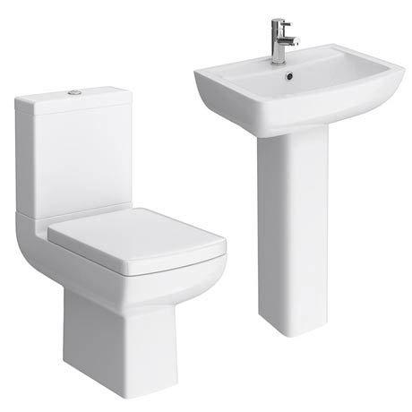 Milan 4-Piece Modern Bathroom Suite