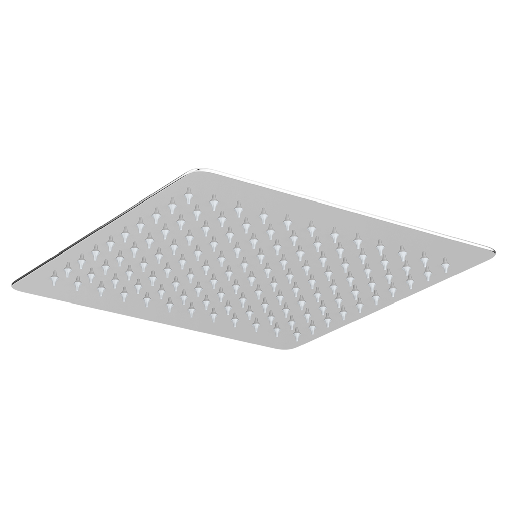 Milan Ultra Thin Square Shower Head (300 x 300mm) Large Image