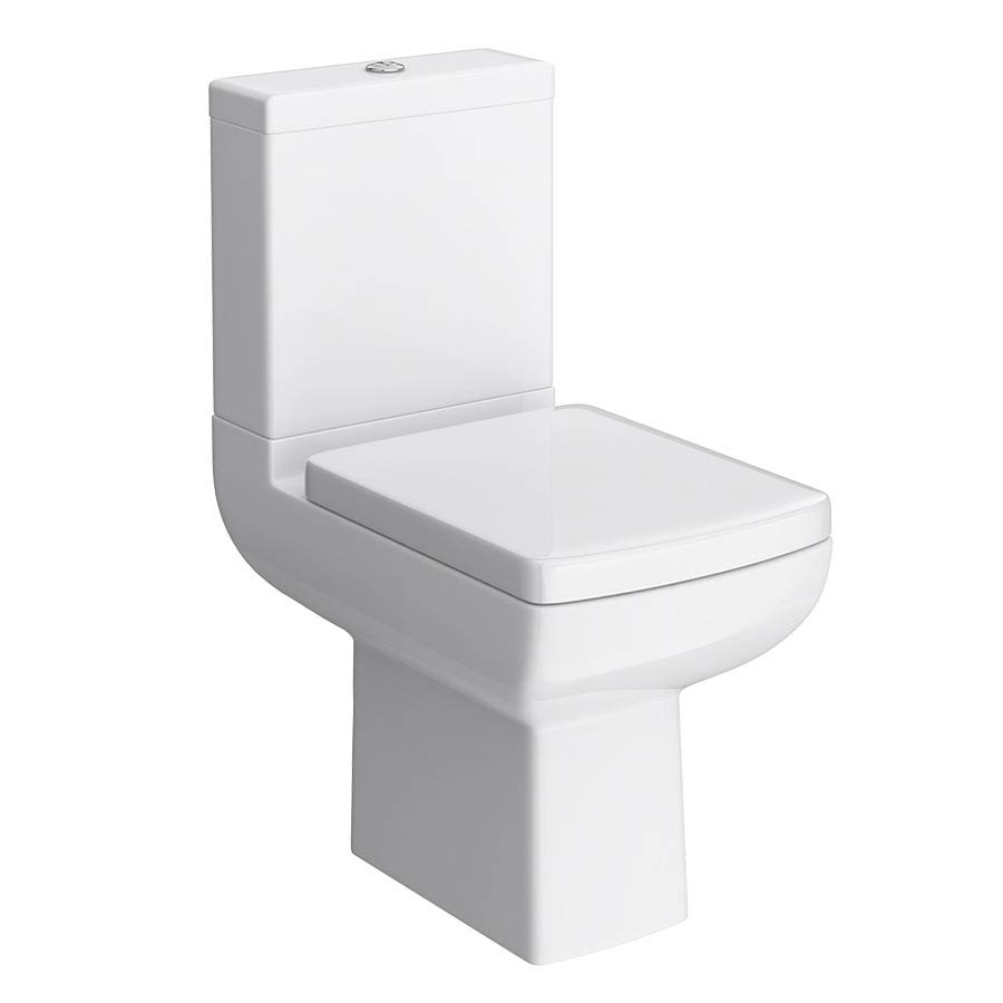 Milan Modern Short Projection Toilet + Soft Close Seat