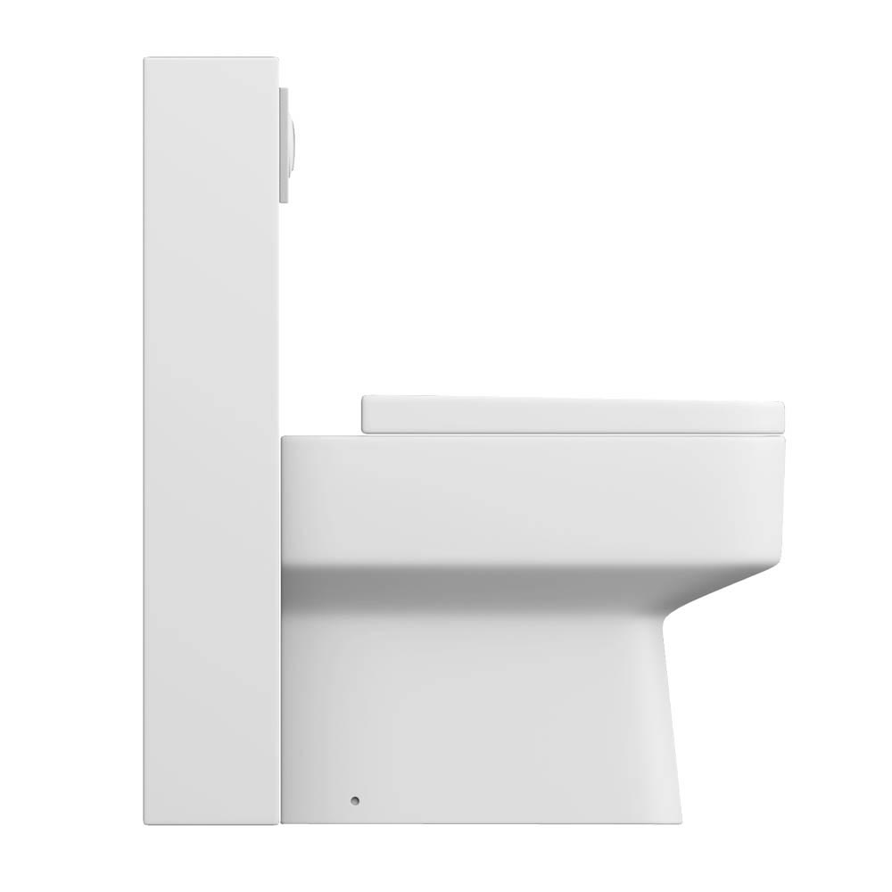 Milan Polymarble Back To Wall WC Unit + Cistern profile large image view 3