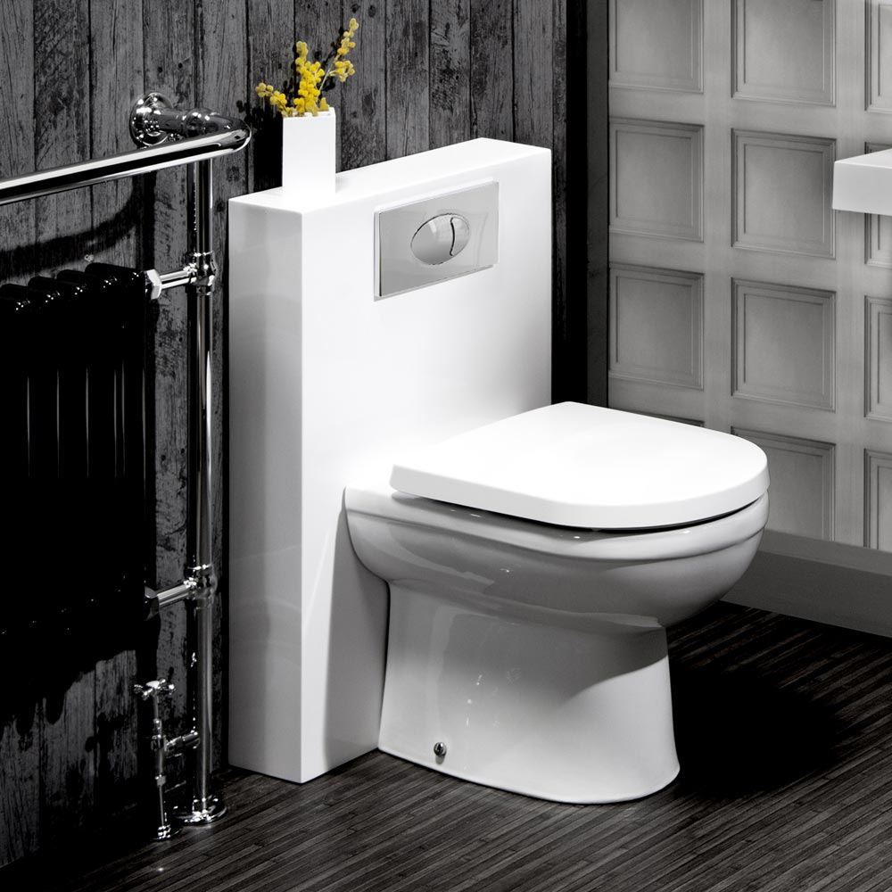 Milan Polymarble Back To Wall Wc Unit Cistern