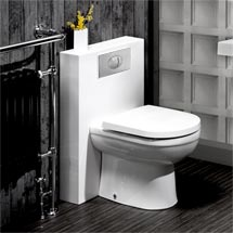 Milan Polymarble Back To Wall WC Unit + Cistern Medium Image